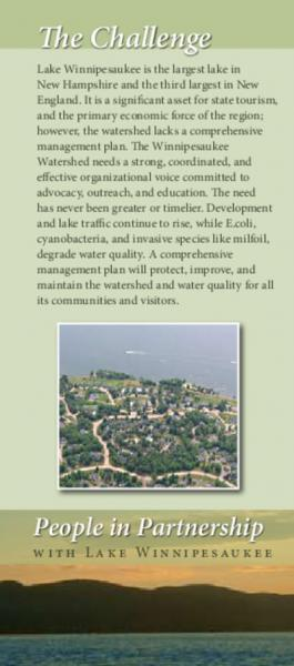 Lakes Region brochure - page 1